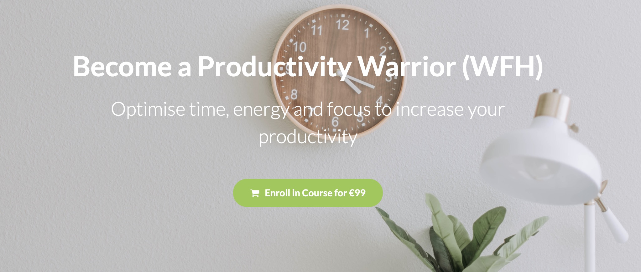 Course - Productivity Warrior
